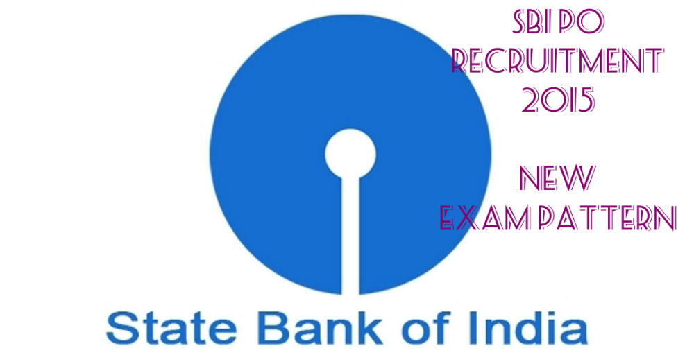 SBI PO 2015 recruitment 2015