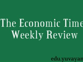 The Economic Times Weekly Review current affairs