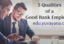 qualities of a good bank employee